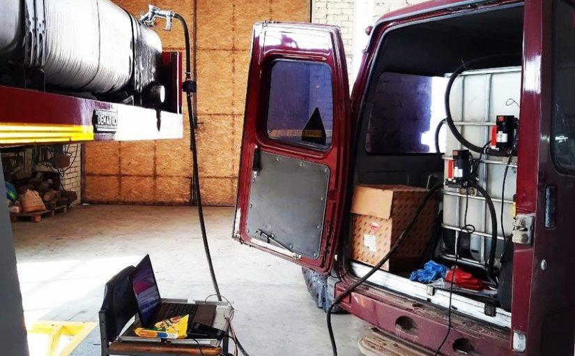 Установка и тарировка топливных датчиков Эскорт на трал⛽